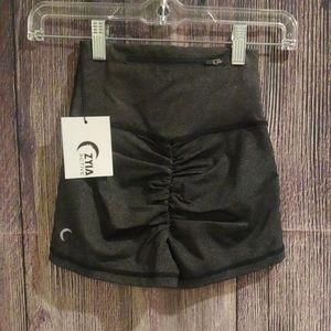 Zyia Scrunchy Butt Spandex Shorts